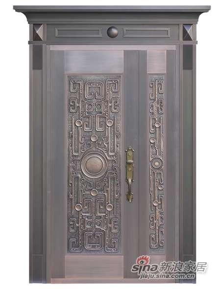 雅帝乐铜门D-P2-5006-F1(金龙盘鼎)-0