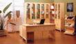 北欧S206转角书柜+S108办公桌