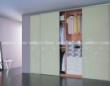 联邦高登烤漆玻璃移门衣柜――春意盎然