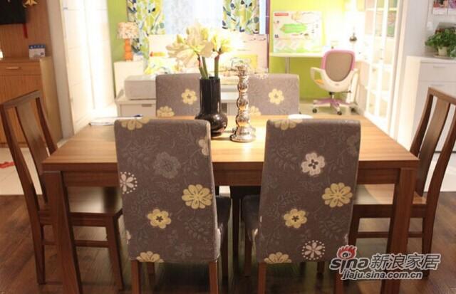 意风4112W16餐桌