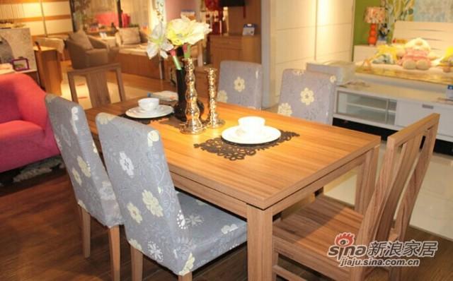意风4112W16餐桌-1