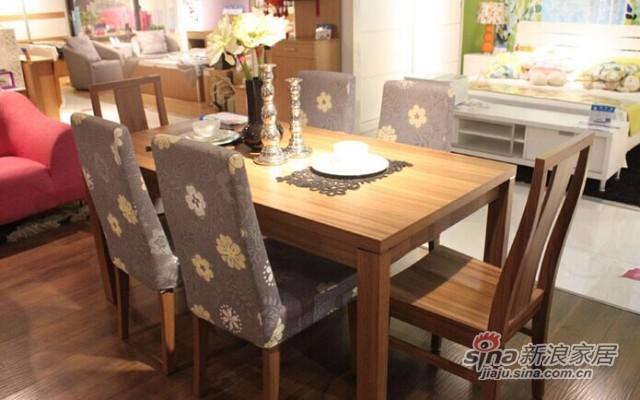 意风4112W16餐桌-2