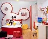 迪士尼儿童彩色家具-顽皮米奇床