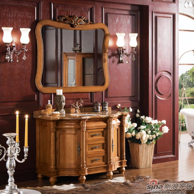 阿洛尼浴室柜-欧式仿古柜-A1617