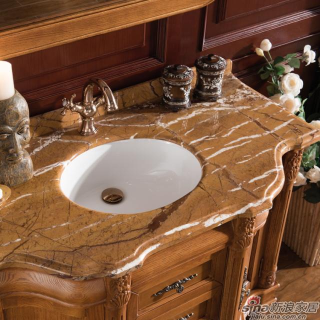 阿洛尼浴室柜-欧式仿古柜-A1617-1