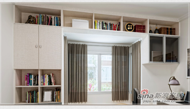 索菲亚衣柜-飘窗卧室家具套装组合-2