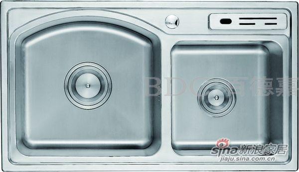 百德嘉五金龙头挂件-H762012不锈钢水槽-0
