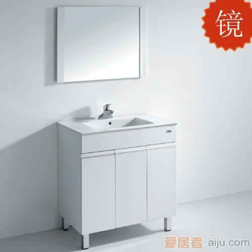 法恩莎PVC浴室柜FPG4655镜子(800*600*15mm)1
