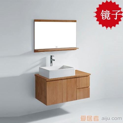 法恩莎实木浴室柜FPGM4692J镜子(900*600*118mm)1