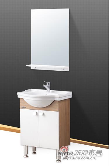 九牧高档落地式浴室柜-0