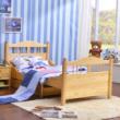 喜梦宝实木伸缩儿童床