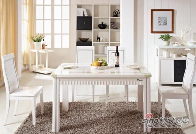 瑞森大理石系列D612#餐桌椅