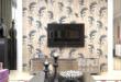 特普丽 浮雕立体3D墙纸