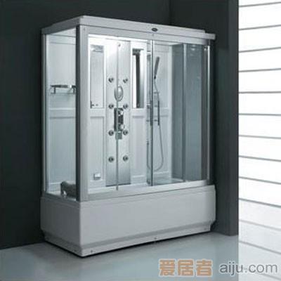 法恩莎电脑蒸汽淋浴房FV009Q(1700*800*2150mm)带冲浪1