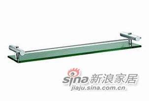 雅洁AT0611S+T1311-D7(10)E玻璃托架+工艺玻璃+沙银-0
