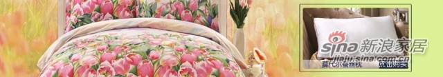 lovo全棉纯棉被套床单四件套件罗莱家纺出品床上用品-4