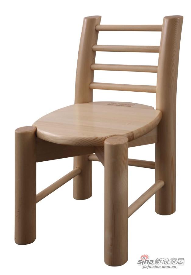 松堡王国P008小圆脚椅-0
