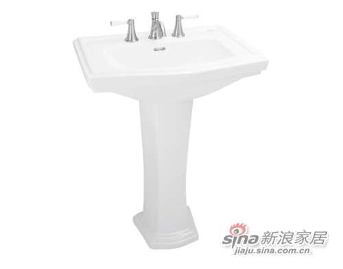 TOTO立柱式洗脸盆LW780CB-0