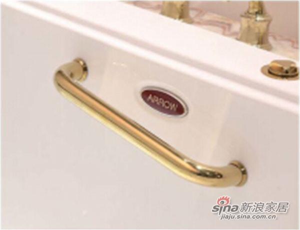 箭牌卫浴欧式仿古汽泡按摩浴缸AQ1704-3