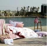 紫罗兰家纺床上用品全棉活性印花四件套甜蜜蜜VPEF406-4