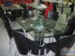 罗曼家日B2116玻璃餐桌
