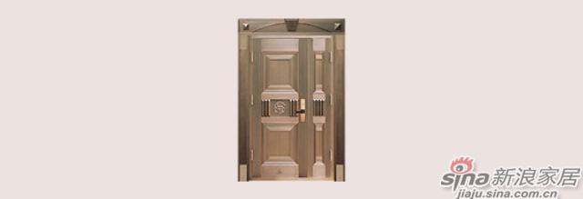 王力全自动防盗门-铜门系列
