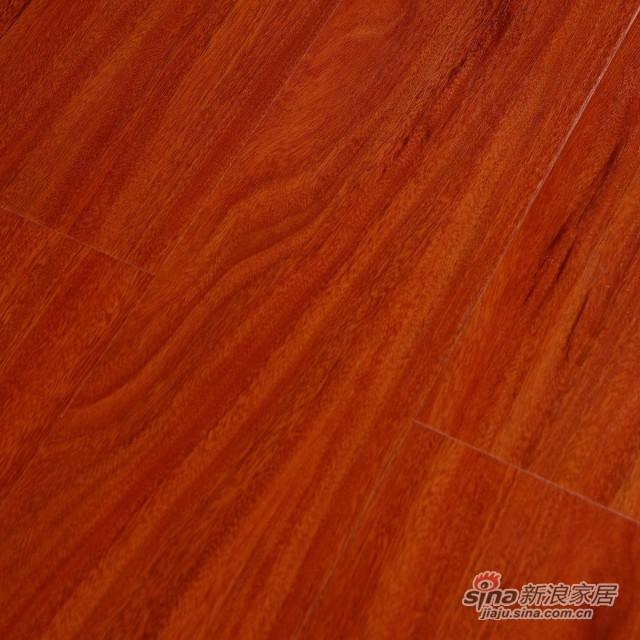 瑞澄地板--羽丝面系列--玫瑰檀木5501-0