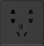 P07七孔黑色