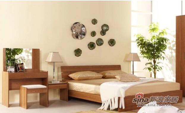 曲美家具卧室家具组合