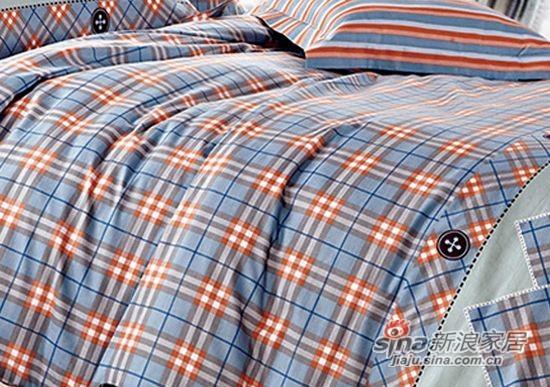 维科家纺斜纹活性印花四件套布依时代-1