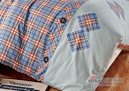 维科家纺斜纹活性印花四件套布依时代-3