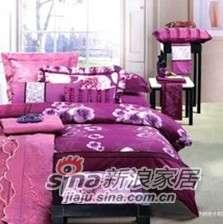 紫罗兰家纺婚庆六件套绮梦PC6026-6-0