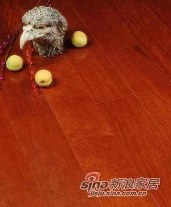 宏鹏地板金铂面防潮实木系列―番龙眼WFT-19-08A-0
