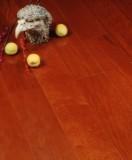 宏鹏地板金铂面防潮实木系列―番龙眼WFT-19-08A