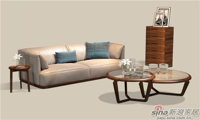北欧风系列-客厅`沙发茶几`斗柜