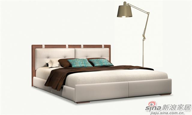 北欧风系列-卧室`软床