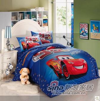 酷漫居汽车总动员床品套件-0