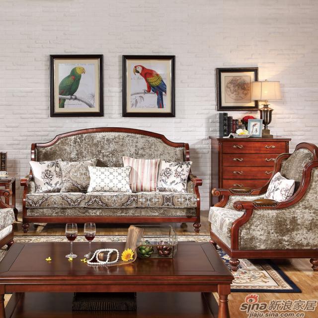 巴克庄园Z6085+Z6089沙发