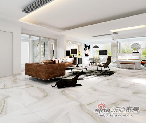 兴辉瓷砖浪花白1SG801005F-1