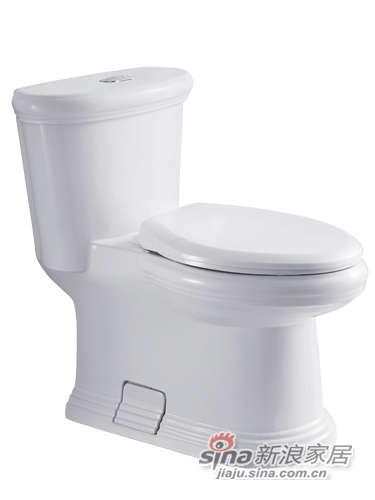 成霖高宝卫浴古典连体座厕-0