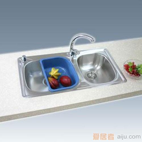 GORLDE优质不锈钢水槽/洗菜池 家宜系列JY01(大小盆)1