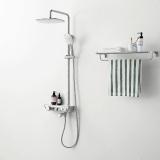 航标卫浴多功能恒温淋浴柱
