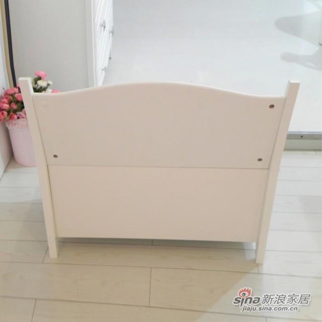 【新干线】板木储物凳床尾凳梳妆凳欧式田园家具-1