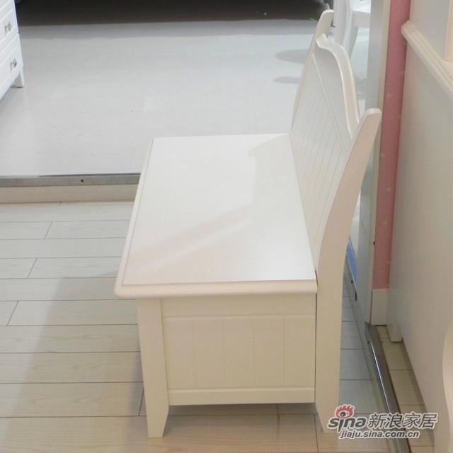 【新干线】板木储物凳床尾凳梳妆凳欧式田园家具-2