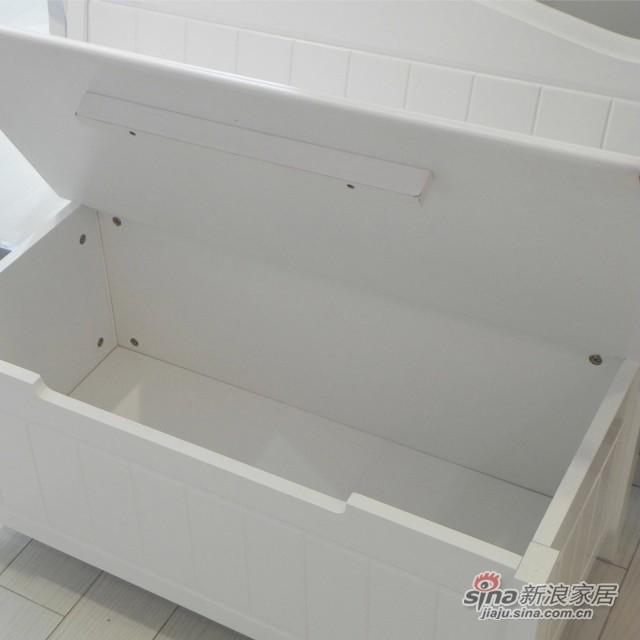 【新干线】板木储物凳床尾凳梳妆凳欧式田园家具-3