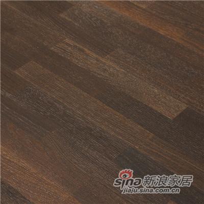 德合家BEFAG三层实木复合地板B55608三拼烟熏自然油拉丝橡木-1
