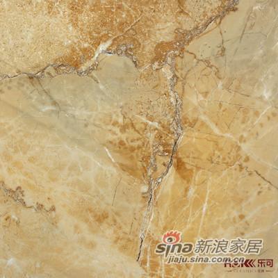 乐可瓷砖―炫彩御品系列―山度士(棕黄色)-1