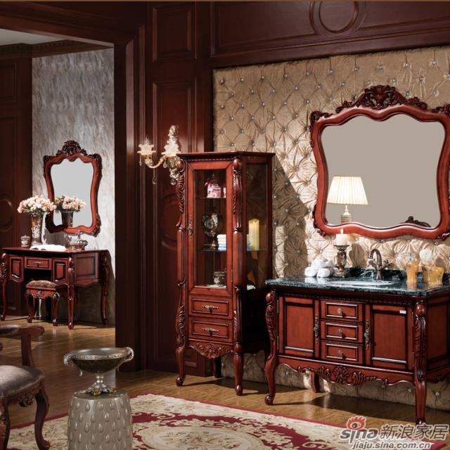 阿洛尼浴室柜-欧式仿古柜-A1135-0