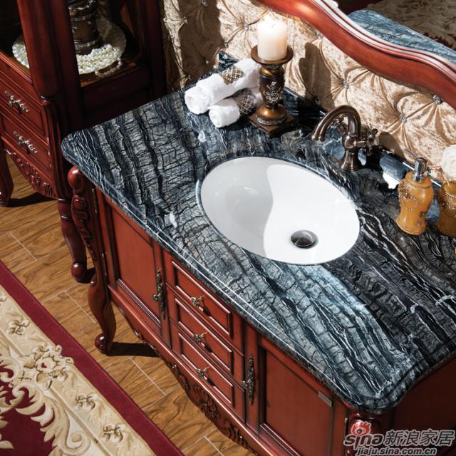 阿洛尼浴室柜-欧式仿古柜-A1135-1