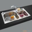 GORLDE优质不锈钢水槽/洗菜池 莱茵系列LY02(大小盆)